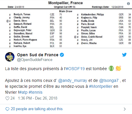 ATP MONTPELLIER 2019 Unti1626