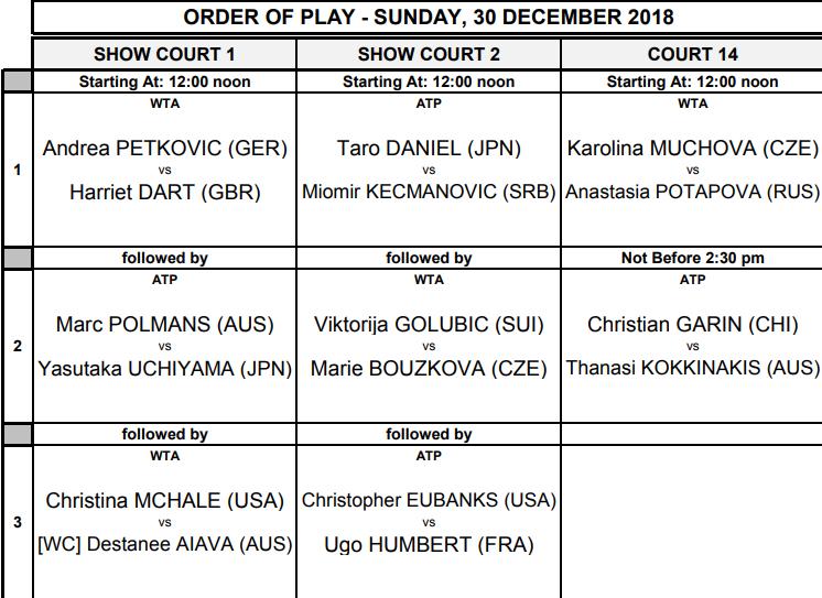 WTA BRISBANE 2019 - Page 2 Unti1662