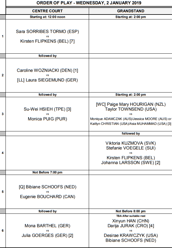 WTA AUCKLAND 2019 - Page 4 Unti1724