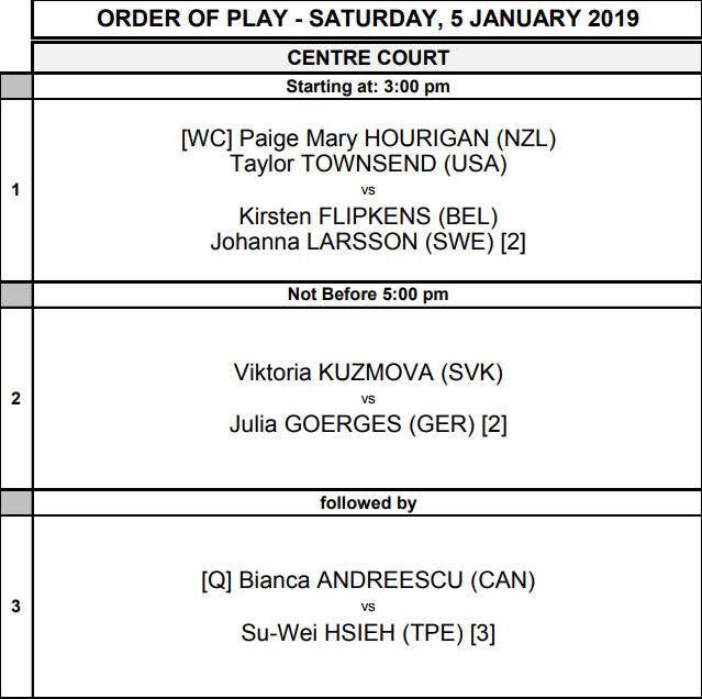 WTA AUCKLAND 2019 - Page 5 Unti1775