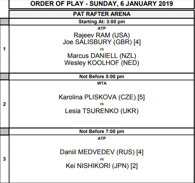 WTA BRISBANE 2019 - Page 6 Unti1807