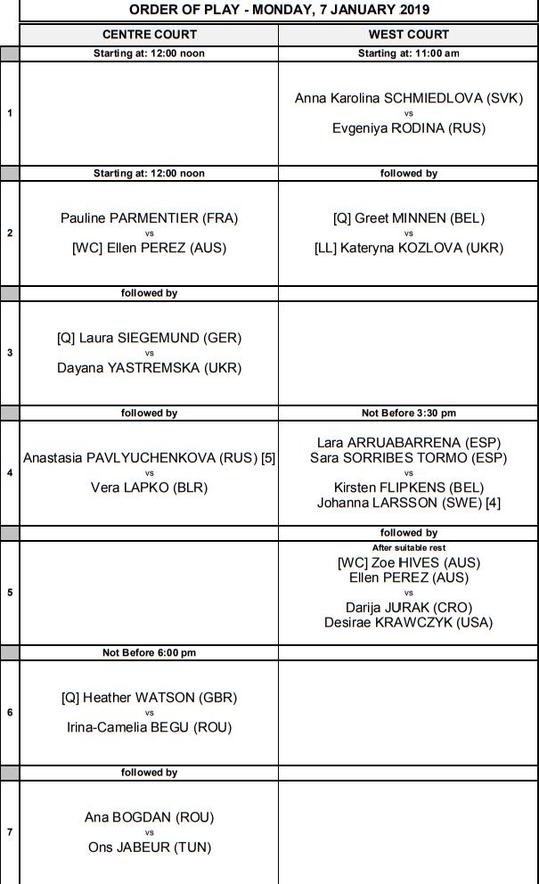 WTA HOBART 2019 - Page 3 Unti1821