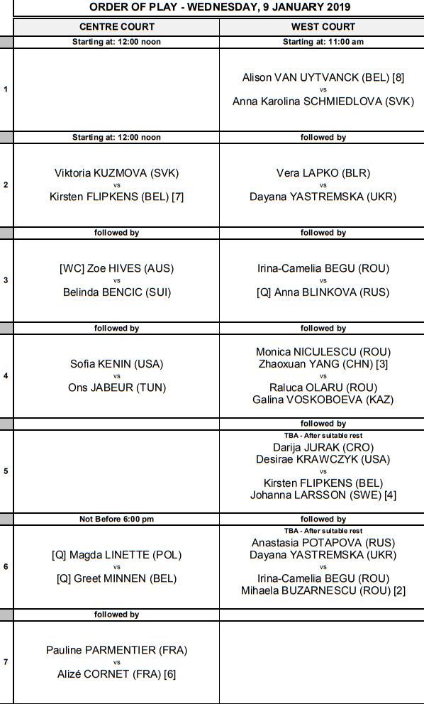 WTA HOBART 2019 - Page 4 Unti1856