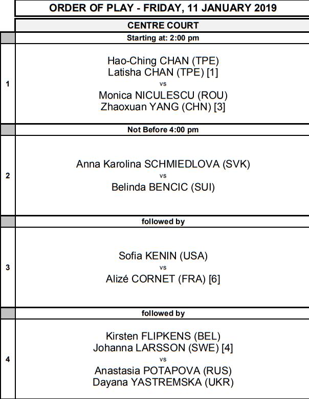 WTA HOBART 2019 - Page 5 Unti1900