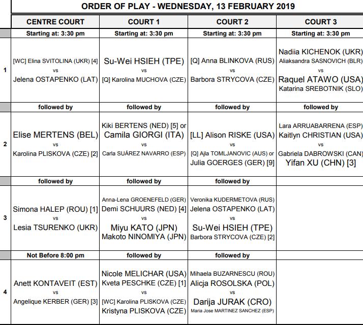 WTA DOHA 2019 - Page 3 Unti2245