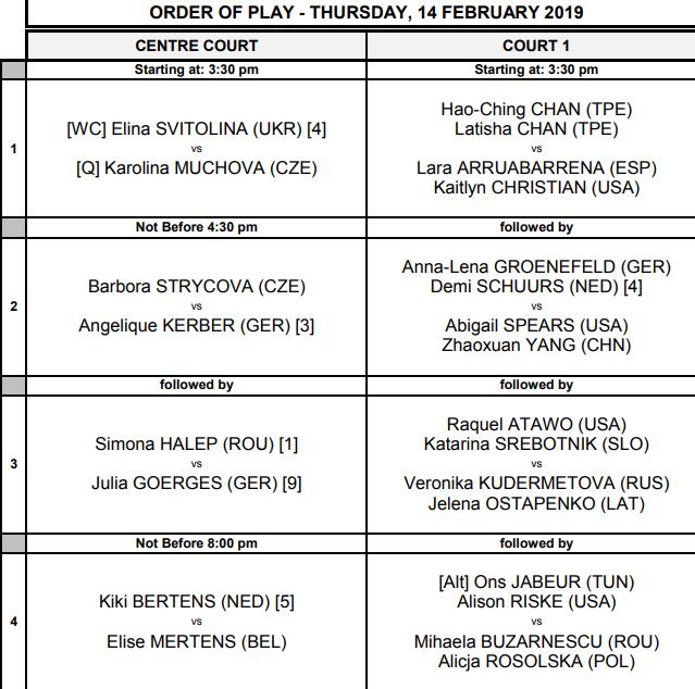 WTA DOHA 2019 - Page 3 Unti2259