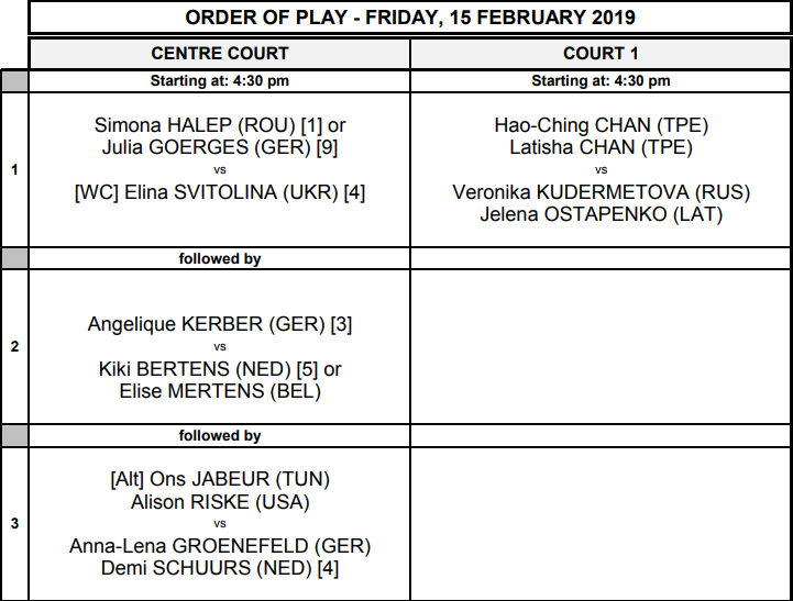 WTA DOHA 2019 - Page 4 Unti2273