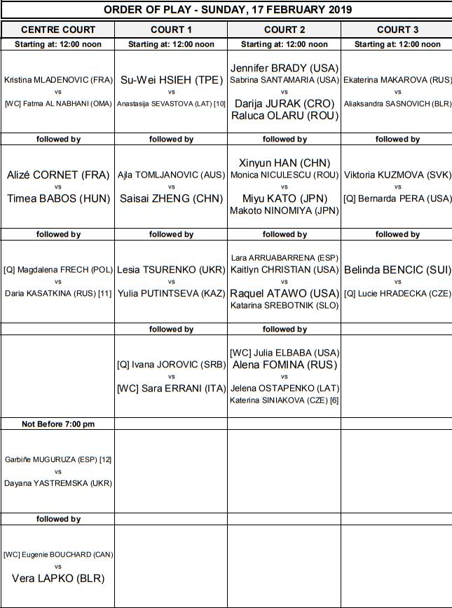 WTA DUBAI 2019 - Page 2 Unti2300