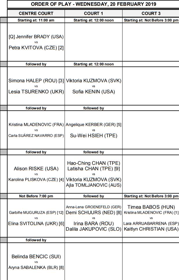 WTA DUBAI 2019 - Page 5 Unti2361