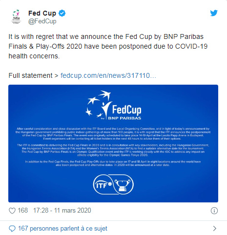 FED CUP 2020 FINALE Unti2419