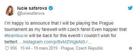 WTA PRAGUE 2019 Unti2518