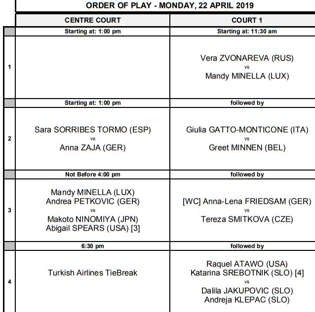 WTA STUTTGART 2019 Unti2714