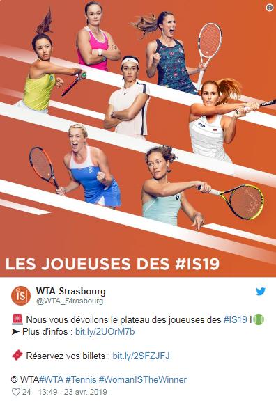 WTA STRASBOURG 2019 Unti2731