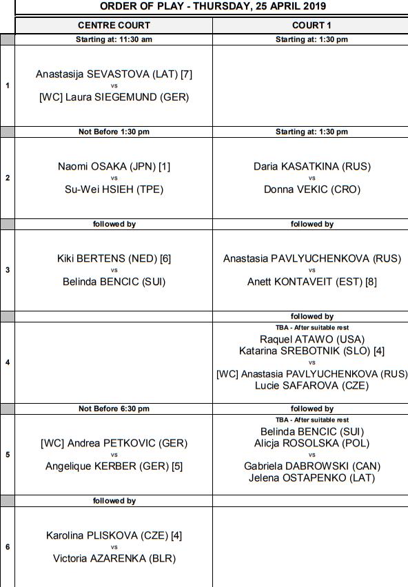 WTA STUTTGART 2019 - Page 2 Unti2741