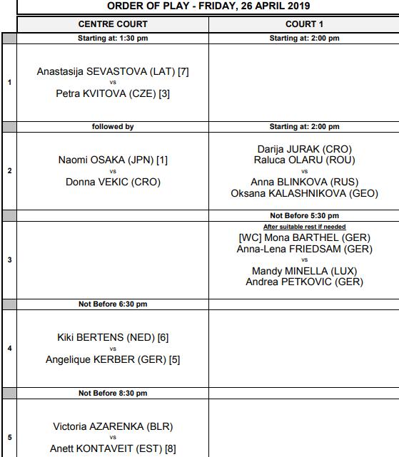 WTA STUTTGART 2019 - Page 3 Unti2754