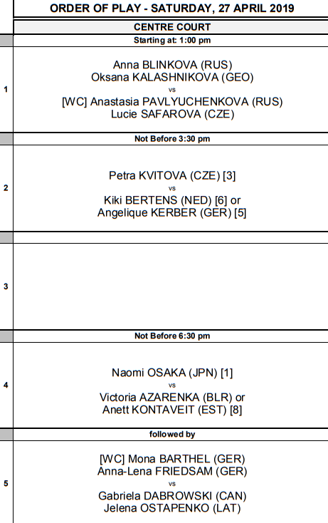 WTA STUTTGART 2019 - Page 3 Unti2779