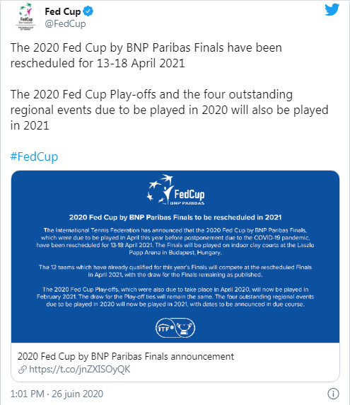 FED CUP 2020 FINALE Unti2798