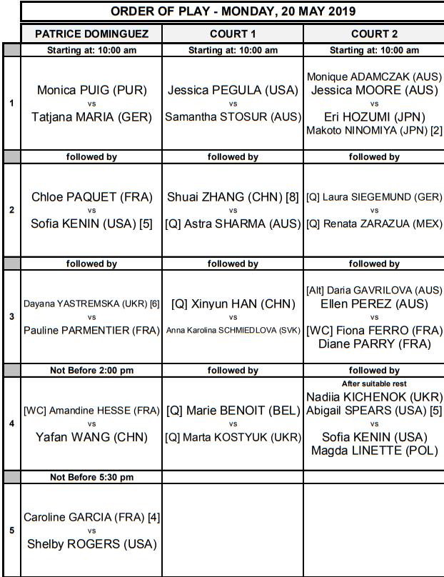 WTA STRASBOURG 2019 - Page 2 Unti2828