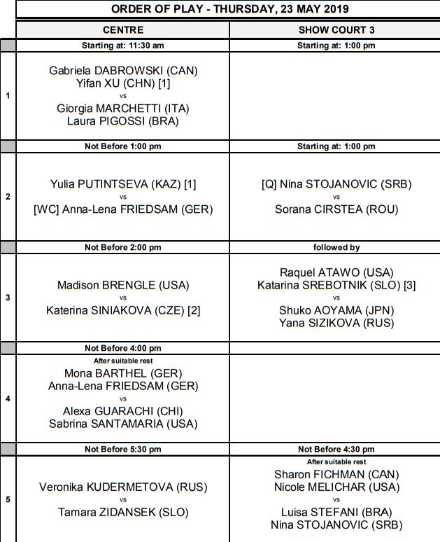 WTA NUREMBERG 2019 - Page 2 Unti2848