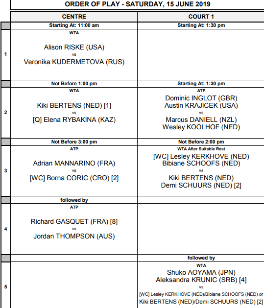 WTA 'S-HERTOGENBOSCH 2019 - Page 2 Unti3024
