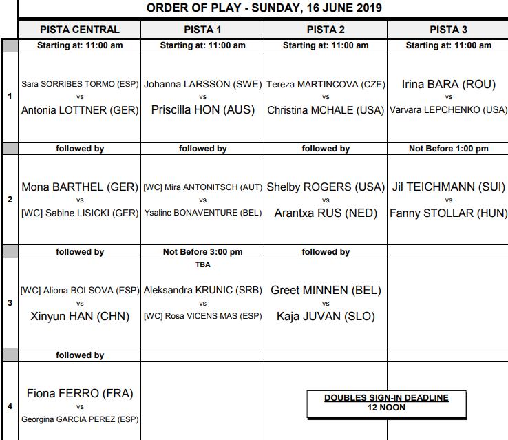 WTA MAJORQUE OPEN 2019 Unti3044