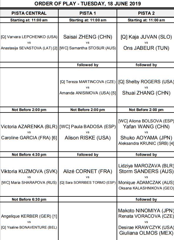 WTA MAJORQUE OPEN 2019 Unti3072