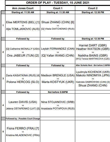 WTA BIRMINGHAM 2021 Unti4000