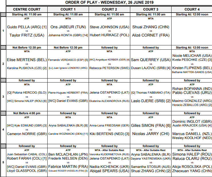 WTA EASTBOURNE 2019 - Page 2 Untit110