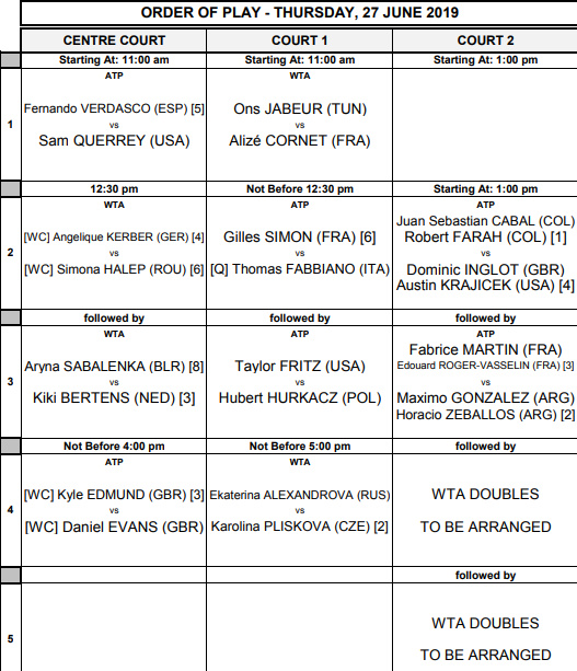 WTA EASTBOURNE 2019 - Page 3 Untit143