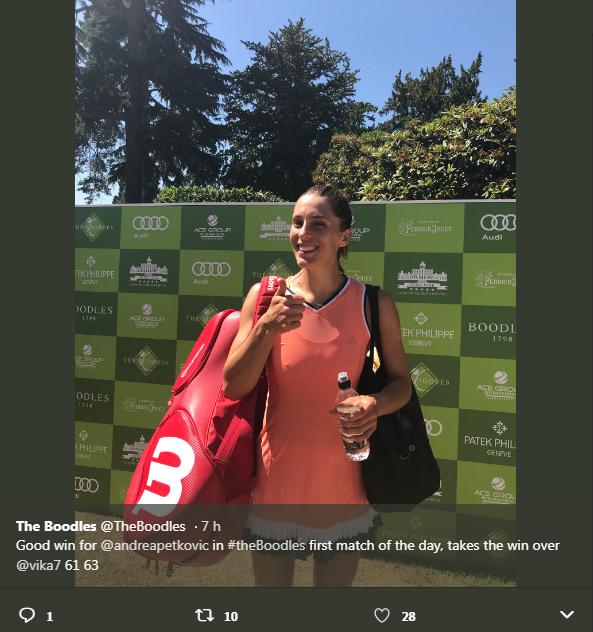 Exhibition Boodles Tennis Challenge du 26 au 30 juin 2018, à Stoke Park, à Londres Untit212