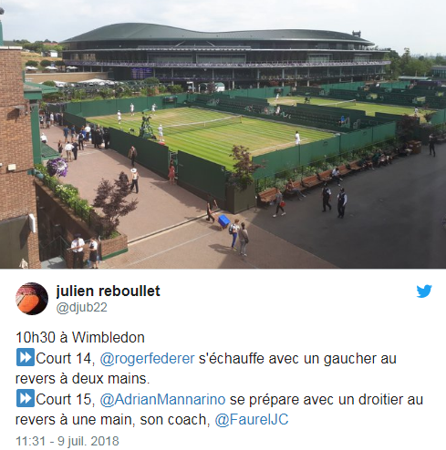 WIMBLEDON 2018: HOMMES photos et videos - Page 13 Untit321