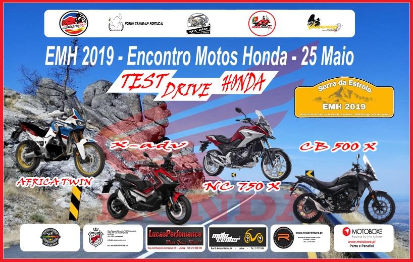 EMH 2019 - Encontro Modelos Honda - 25 Maio Cartaz10