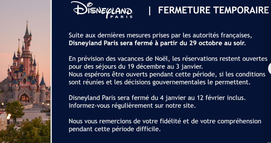 La fermeture de Disneyland Paris pendant la 2ème vague de COVID-19 (jusqu'au 1er avril 2021 inclus) - Page 3 11111110
