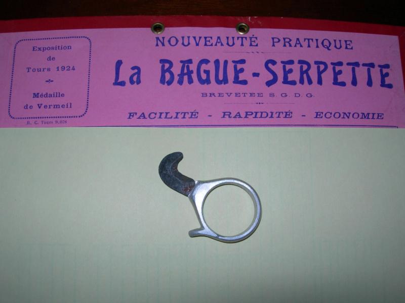 Bague ,outil et curiosité .... Rare-b11
