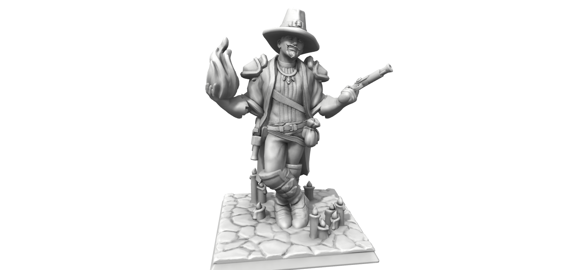 Galerie de Personnages 3D Hero Forge Herofo11