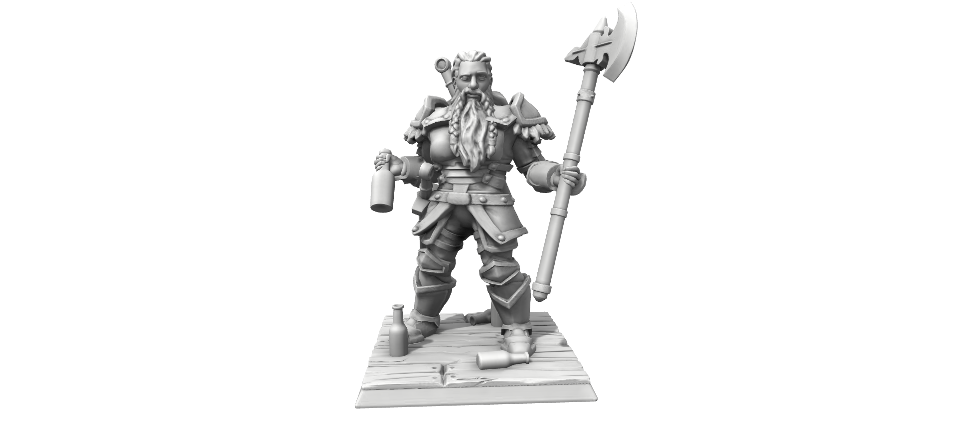Galerie de Personnages 3D Hero Forge Herofo12