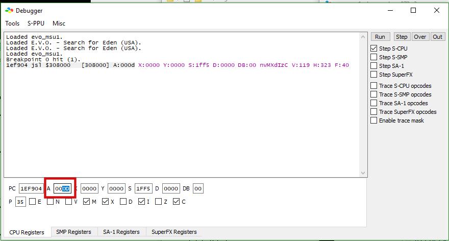 E.V.O. msu1 patch Image213