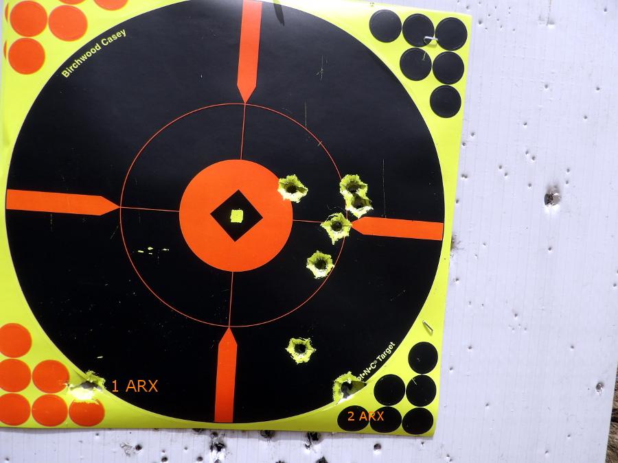 X-150 - 300gr XTP Mag & ARX bullets 100_3210