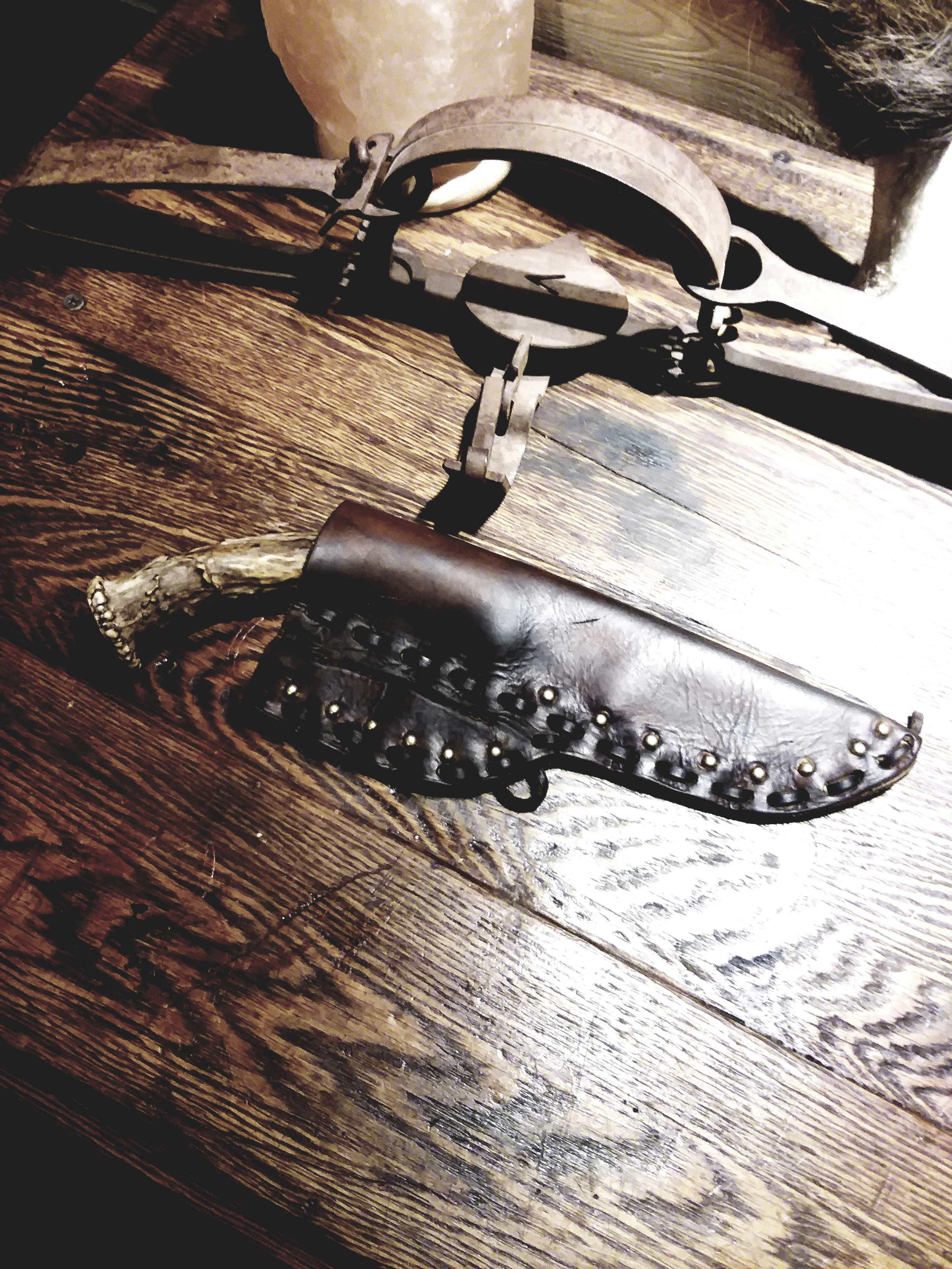 Updating my knife sheath 20190413