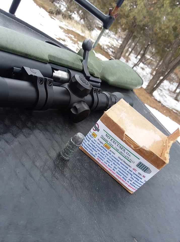 .45cal CVA Firebolt Ultramag First range day 53117610