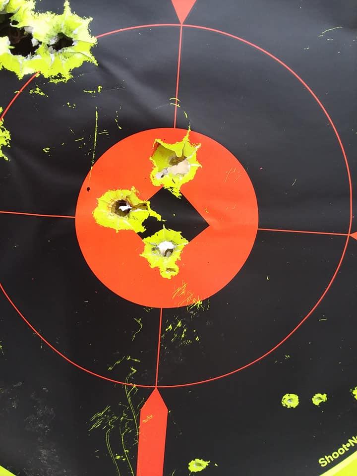 .45cal CVA Firebolt Ultramag First range day 53285410