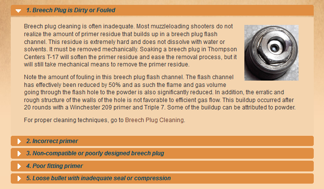 Primer Blowby - Burnt Scopes - Dirty Breech Plugs - Blackhorn209 inline Shooters Helper Bp110