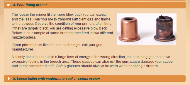 Primer Blowby - Burnt Scopes - Dirty Breech Plugs - Blackhorn209 inline Shooters Helper Bp410