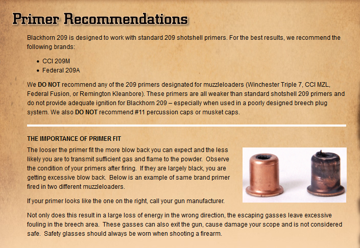 Primer Blowby - Burnt Scopes - Dirty Breech Plugs - Blackhorn209 inline Shooters Helper Bp711