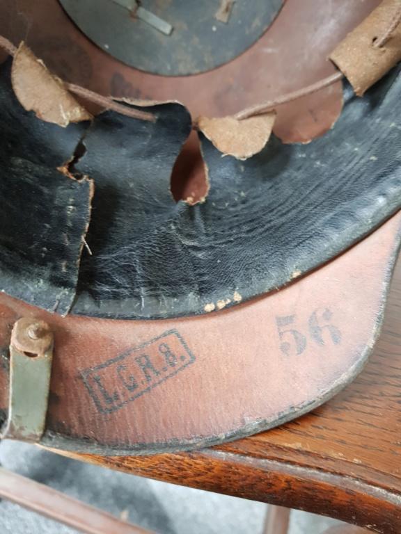 Casque à pointe modèle 1915 Leib Grenadier Régiment n°8 20190343