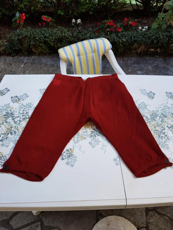 Pantalon-culotte-sarouel garance. Zouave ? Théâtre ? 20190840