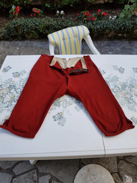 Pantalon-culotte-sarouel garance. Zouave ? Théâtre ? 20190841