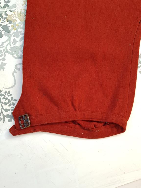 Pantalon-culotte-sarouel garance. Zouave ? Théâtre ? 20190842