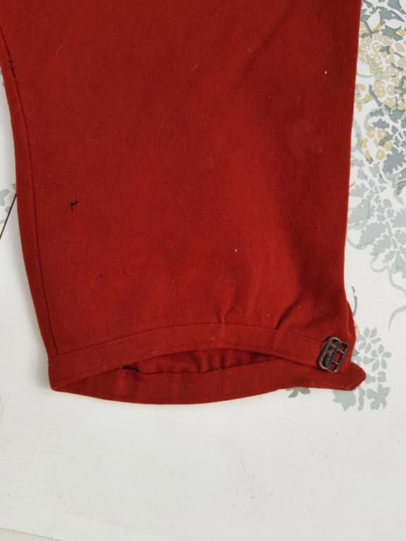 Pantalon-culotte-sarouel garance. Zouave ? Théâtre ? 20190844