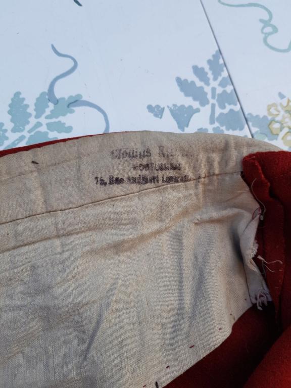 Pantalon-culotte-sarouel garance. Zouave ? Théâtre ? 20190846
